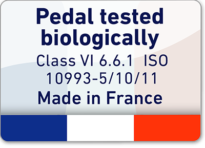 Pedal biologically tested